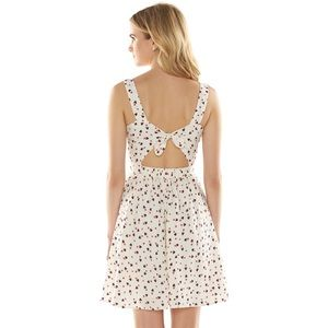 Minnie Mouse Print Dress